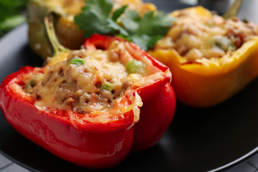 Yeast-Free Stuffed Bell Peppers Recipe