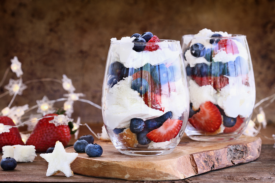 Red, White & Blue Superfood Fruit Salad Recipe