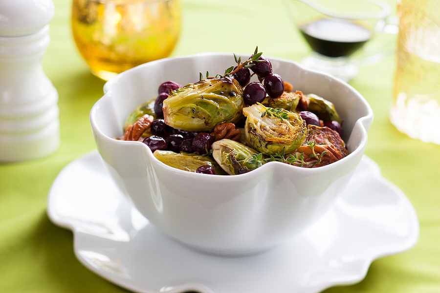 Roasted Brussels Sprouts and Squash Recipe