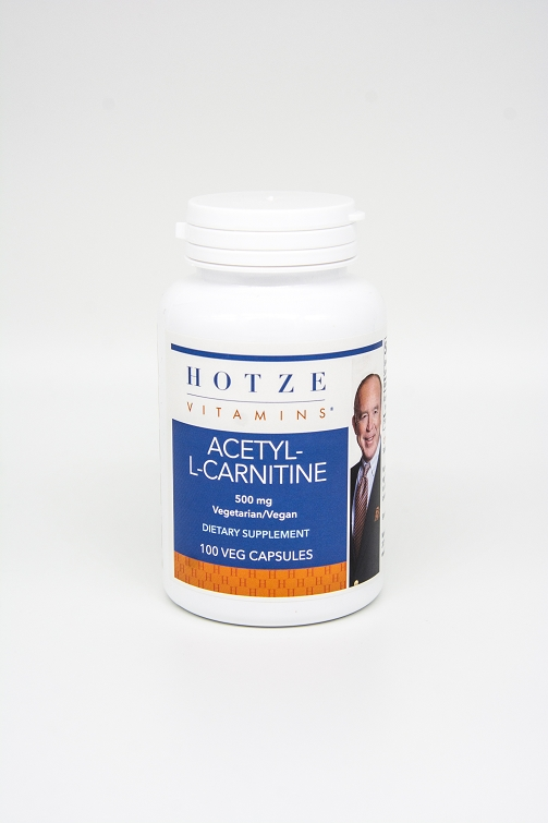 Acetyl L-Carnitine 500 mg 100 Capsules