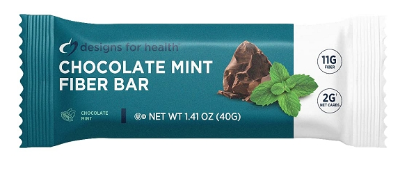 Dr. Hotze's Chocolate Mint Coconut Bar - Box of 18 Bars