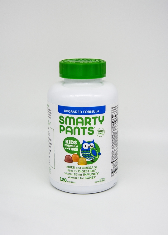 Smarty Pants Kids Complete with Fiber 120 Gummies