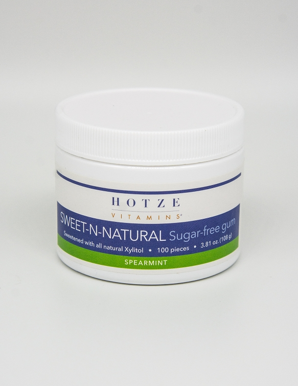 Sweet-n-Natural Gum Spearmint