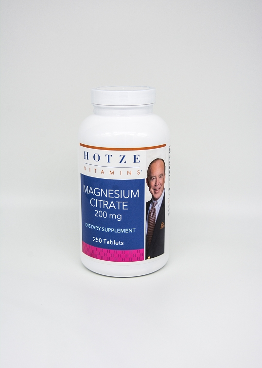 Magnesium Citrate 200 mg 250 Tablets