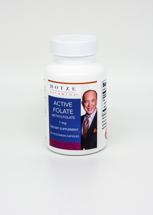 Active Folate 1000 mcg 120 Capsules