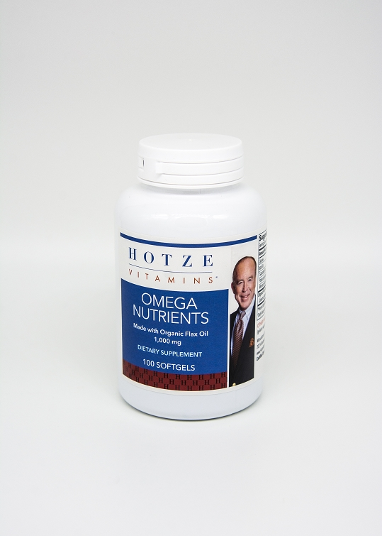 Omega Nutrients 1000 mg 100 Softgels