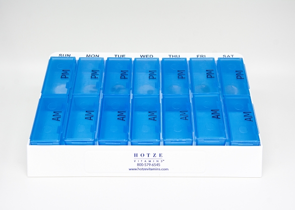 Pill Box Vitamin Sorter