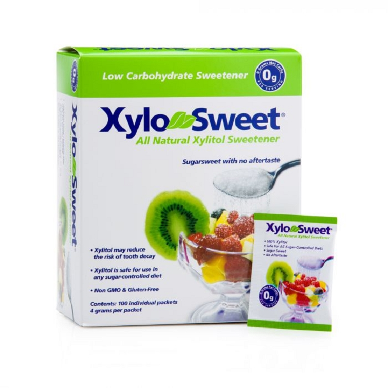 Sweet-n-Natural Xylitol Packets 100 ct