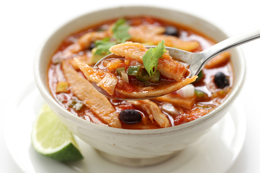 Yeast-Free Chicken Tortilla Soup Recipe