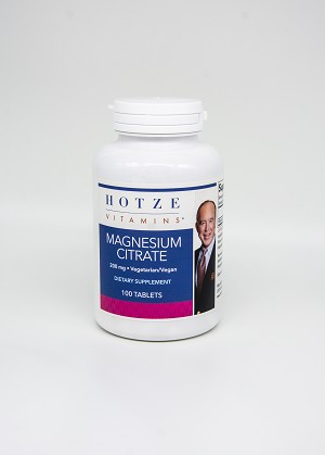 Magnesium Citrate 200 mg 100 Tablets