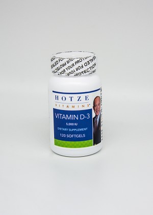 Vitamin D3  5,000 iu 120 Softgels