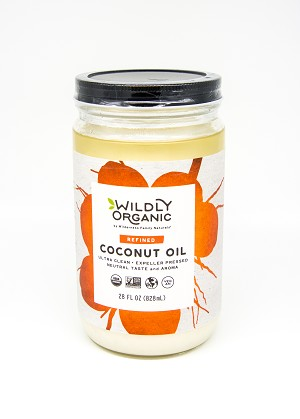 Organic Expeller Pressed Unflavored Coconut Oil (32 oz)